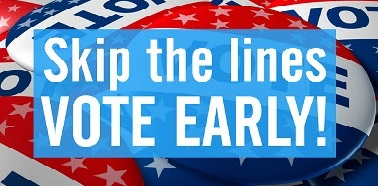 Skip the lines: Vote Early!